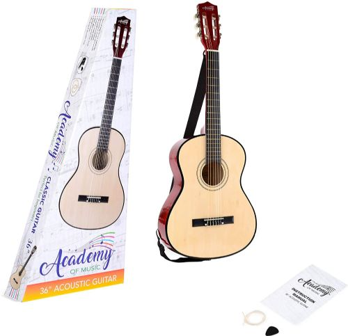 Academy of Music Acoustic Guitar for Kids 36 Inch